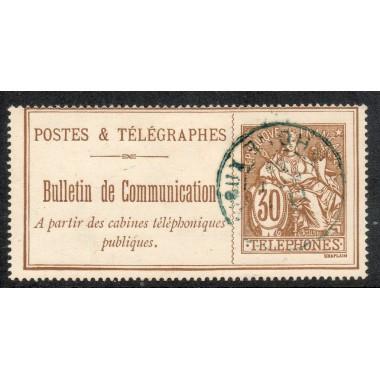 Telephone  N° 25 oblitere