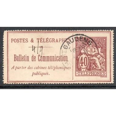 Telephone  N° 26 oblitere