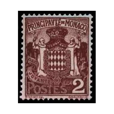 Monaco Neuf ** N° 0074