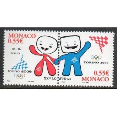 Monaco Neuf ** N° 2529/30
