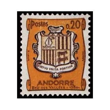 ANDORRE N ** N° 0157