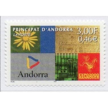 ANDORRE N ** N° 0536