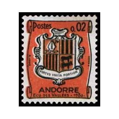 ANDORRE Obl N° 0153B