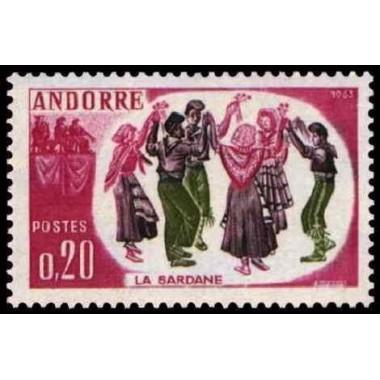 ANDORRE Obl N° 0166