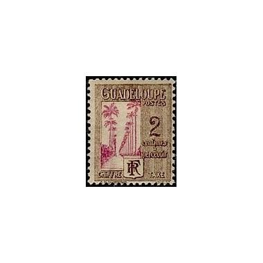 Guadeloupe TA N° 025 N *