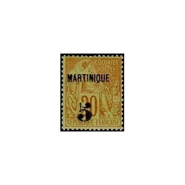 Martinique N° 001 N *