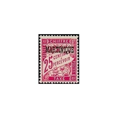 Martinique N° TA004 Obli