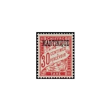 Martinique N° TA005 Obli