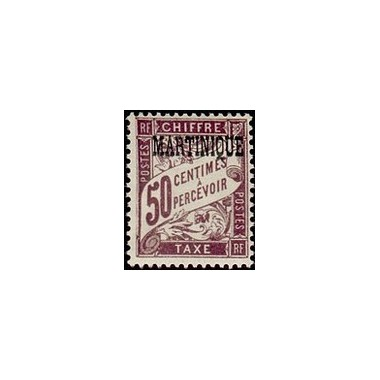 Martinique N° TA007 Obli