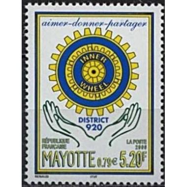 Mayotte N° 083 Neuf **