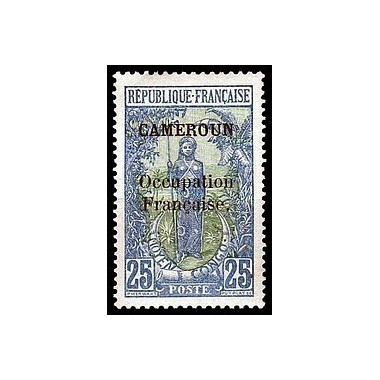 Cameroun N° 074 Obli