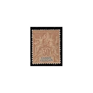 Congo N° 020 Obli