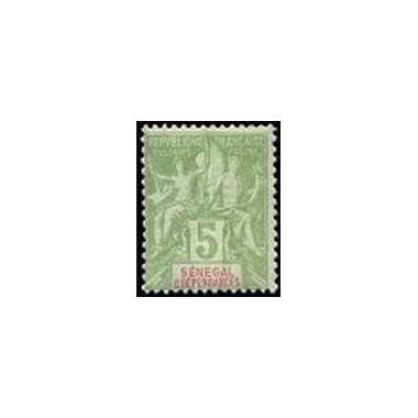 Senegal N° 021 Obli