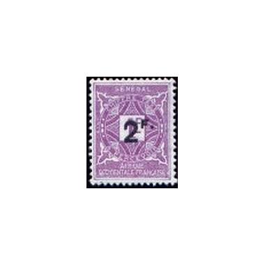 Senegal TA N° 020 Obli