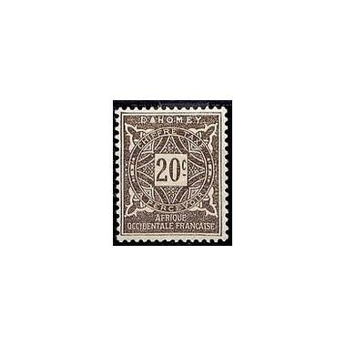Dahomey N° TA012 N *