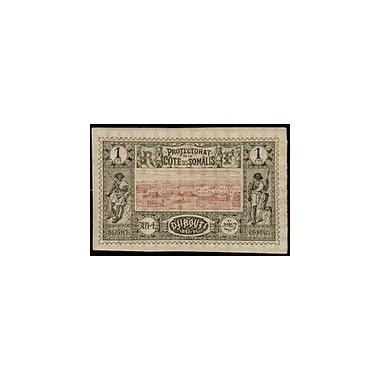Cote des Somalis N° 006 Obli