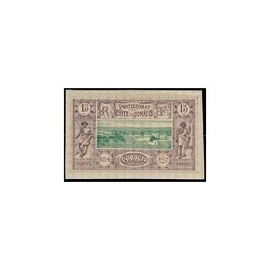 Cote des Somalis N° 011 Obli