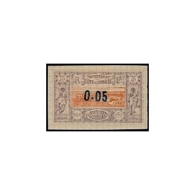 Cote des Somalis N° 023 Obli