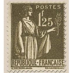 FR N° 0287 Neuf avec trace de charni
