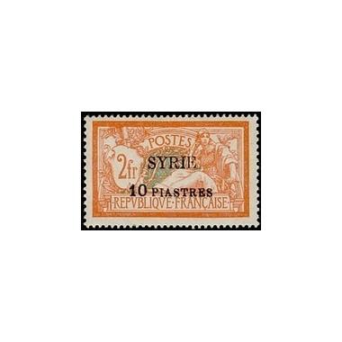 Syrie N° 117 Neuf *