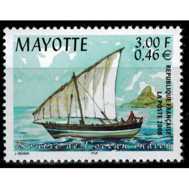 Mayotte N° 081 Neuf **