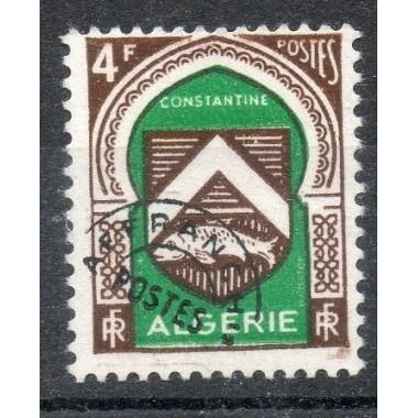 Algerie Preo N° 018 Obli
