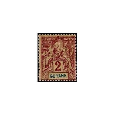 Guyane N° 031 Obli